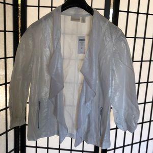 NWT Chico's gorgeous jacket super light fabric